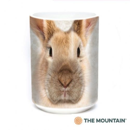Bunny Face Ceramic Mug | The Mountain®